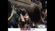 شروع سخنرانی دکتر روحانی - ورزشگاه شیرودی تهران