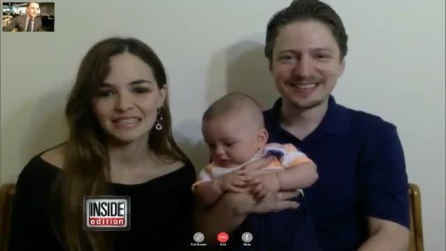 نوزاد سه ماهه ای که حرف می زند!
