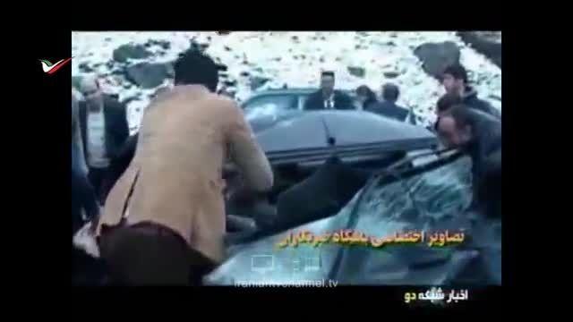 گزارش تصادف شدید کاروان وزیر بهداشت!