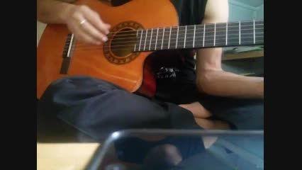 گیتار پاپ.آکورد و ملودی.تقلید حمید عسگری.ریتم چهار چهار