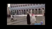 ویدئویی تکان دهنده از توهین به نشان اهل بیت(ع)درعربستان