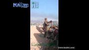 هدف قرار گرفتن سر سرباز توسط تک تیرانداز ...!