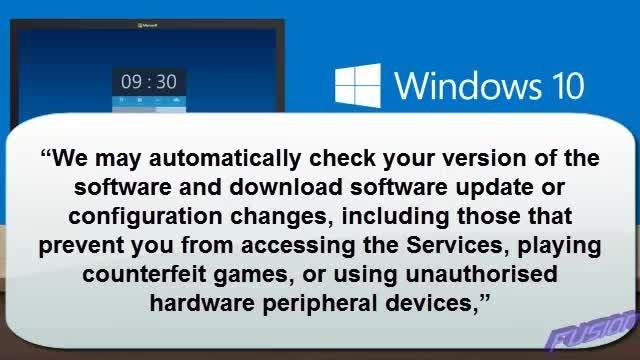 ویندوز 10 تمام کارهایی که انجام می دهید را زیر نظر دارد