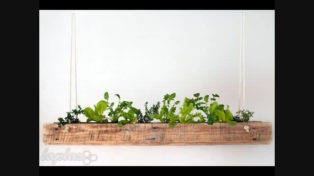 ایده های جالب و زیبا برای دکور خانه با گلدان