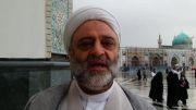دیدنی و شنیدنی فرح زاد :نماز بالای سر امام معصوم چه حکمی دارد؟