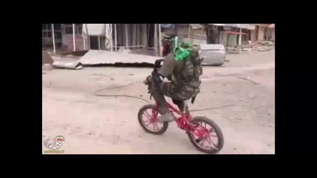 دوچرخه سواری ابوعزرائیل