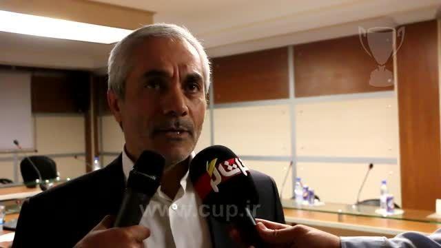 نشست خبری سرپرست باشگاه پرسپولیس؛ علی اکبر طاهری