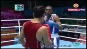 پیروزی قاسمی پور مقابل نماینده عربستان