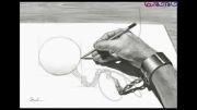 خلاقیت در نقاشی با مداد