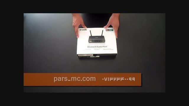 روتر اکسس پوینت بی سیم دی لینک مدل DAP-1360