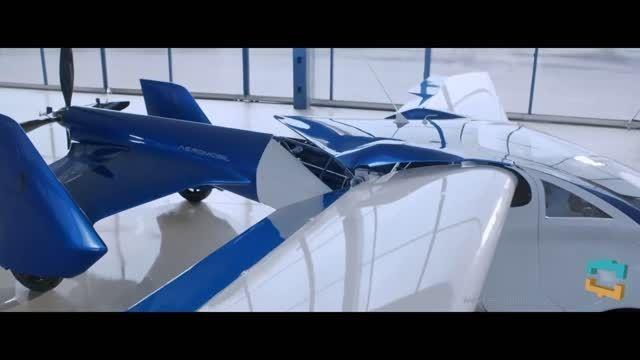 اولین خودرو پرنده در دنیا