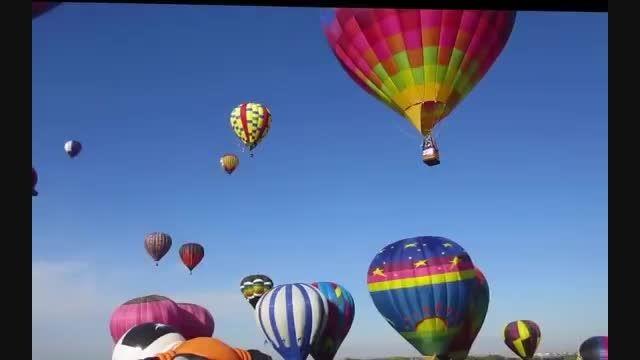 فستیوال بالن های غول پیکر در امریکا