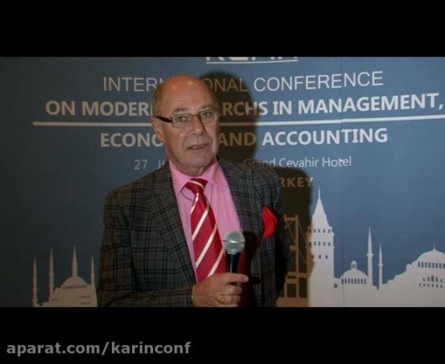مصاحبه پروفسور Malcolm Higgs از دانشگاه Southampoton