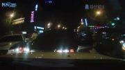 ماشین دزد به دست پلیس گرفتار میشود