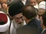 ابراز احساسات به امام خامنه ای در اجلاس  بیداری اسلامی