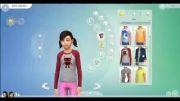 سیمز 4 : لباس های دخترانه - سری 1
