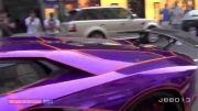 ماشین امیر قطر.....لامبورگینی
