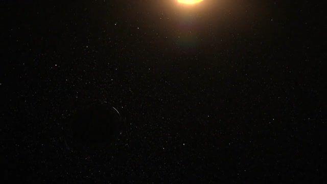 بلعیده شدن یک ستاره توسط سیاهچاله