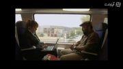 رضا عطاران در قطار (رد کارپت)