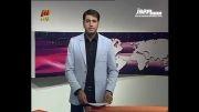 گاف مجری جوان شبکه سه روی آنتن زنده