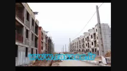 پروژه های رها شده مسکن مهر در برخی شهرهای ایران