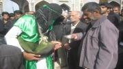 ساقیان هیئت انصارالمهدی(عج)شهرستان نهبندان در روز تاسوعا