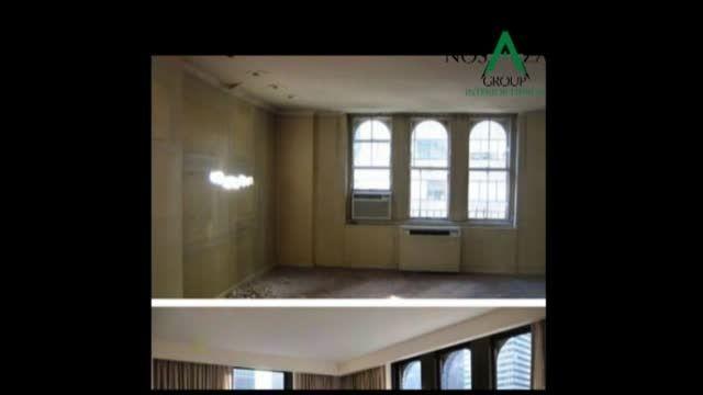 بازسازی آپارتمان - تصاویر قبل و بعد از باز سازی