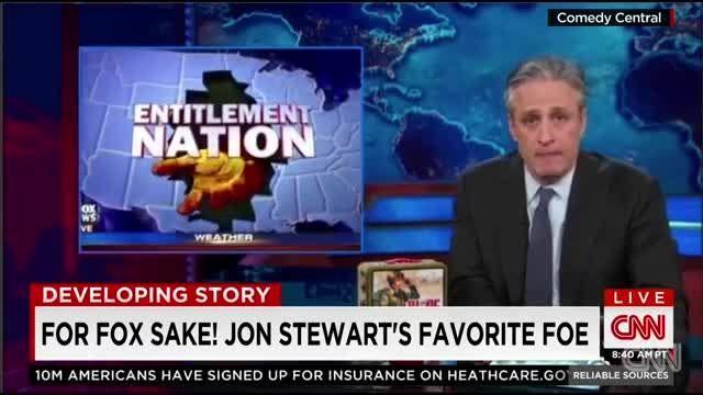 جان استوارت و تمسخر شبکه صهیونیستی فاکس نیوز