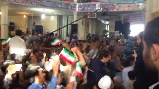 استقبال پرشور از دکتر احمدی نژاد در همدان5