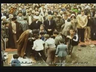 پسر ثروتمند ترین ایتالیایی در نماز جمعه تهران