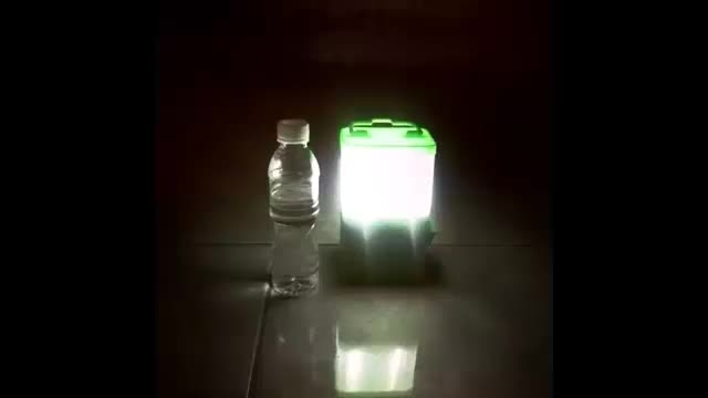 لامپی که انرژی خود را با آب شور تامین می کند