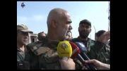 ارتش سوریه پهپاد تروریستها را سرنگون کرد