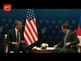 سوتی اوباما در دیدار با مدودف درباره موضوع سپر موشکی
