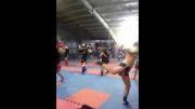 ورزش رزمی-موی تای- تای بوکس -مبارزه تایلندی- پاهویوت-مبارزه