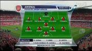 آرسنال 2-2 منچسترسیتی ( هفته 4 لیگ برتر )