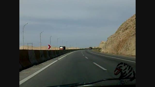 تهران به مشهد جاده کویر