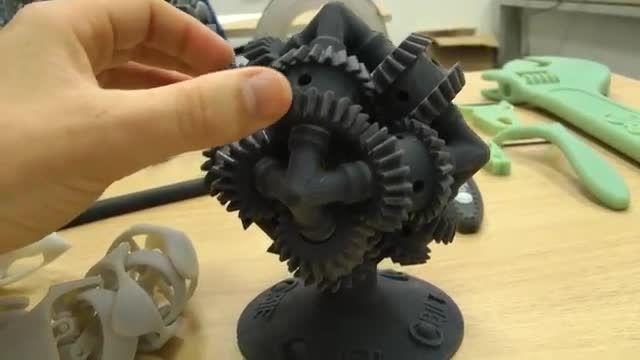 نمونه های جالب از خروجی پرینتر سه بعدی