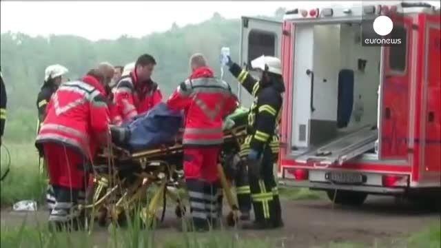دو کشته و بیست مجروح در جریان تصادف قطار در آلمان