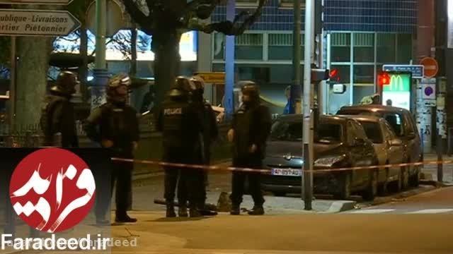 شلیک گلوله در پاریس برای دستگیری مغز متفکر