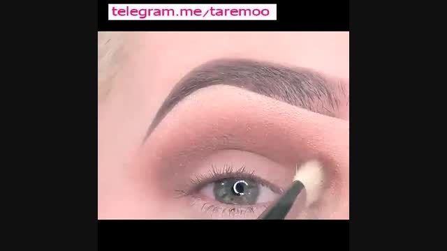 آموزش آرایش چشم با سایه زیبا در تارمو