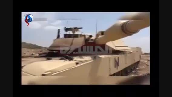 مقبره تانک های آمریکایی عربستان در جیزان