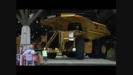 بزرگ ترین و غول پیکرترین ماشین های کامیون و جرثغیل