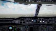 فرود ایرباس ایران ایر در مهرآباد،تماشایی ترین فیلم