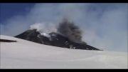 زیباترین فوران آتشفشانی دنیا!اتنا در ایتالیا