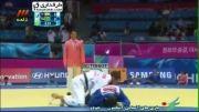 اینچئون؛ پیروزی بهرامیان مقابل ترکمنستان (جودوی تیمی)