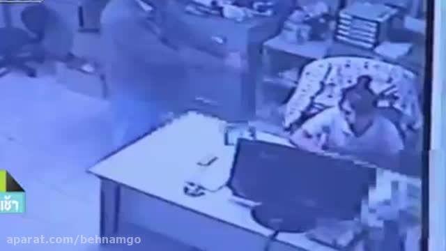 قتل عجیب دختر جوان در محل کار...!