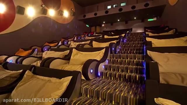 10 سینمای فوق العاده در جهان