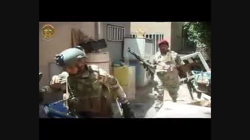 انهدام باند داعشی در بغداد