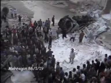 سقوط اتوبوس از پل با 36 نفر کشته