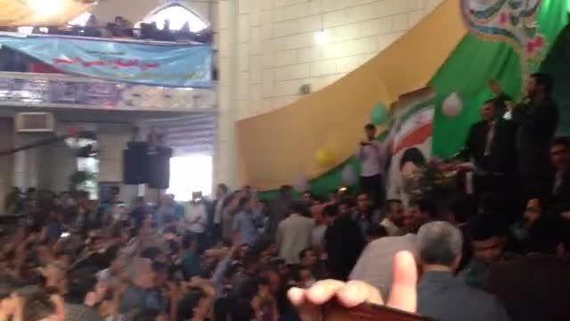 استقبال پرشور از دکتر احمدی نژاد در همدان